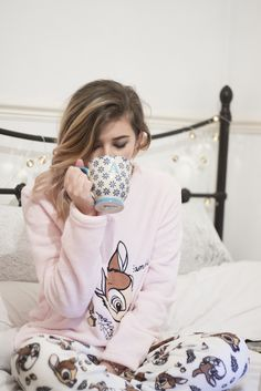 Staying Cosy This Winter | Super cosy Primark Disney PJ's