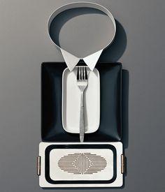 www.glamjam.co  Dinner Etiquette by Scott Newett & Sonia Rentsch