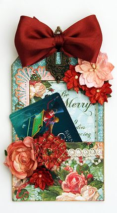 Gift Card Tag using G45 Twelve Days of Christmas!