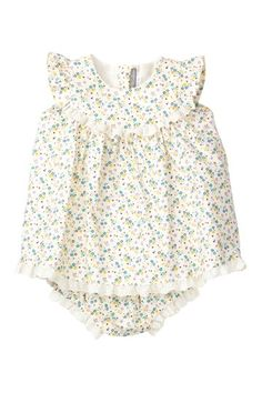 Petit Confection Dandelion Eyelet Lace Dress & Bloomer on HauteLook