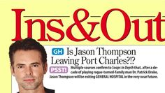 'General Hospital' RUMORS: Jason Thompson Out – Patrick Drake Leaving GH