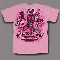 Sweet Thing Funny Pink Ribbon Breast Cancer Girlie Bright T-Shirt. Design is on the back of shirt, front has sweet thing logo.
