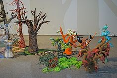 NYC ♥ NYC: FOREST - Miniature Landscape Made of Fabric