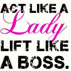 Girls that lift