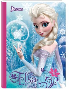 Cuaderno Frozen Disney 5