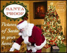 Santa Proof: Photos of Santa in your home! Catch Santa!