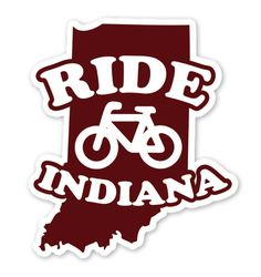 Ride Indiana Sticker