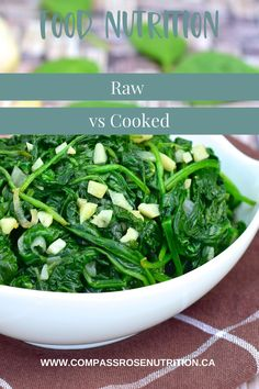 Find out which is the healthier option raw vs cooked Healthy Food, Healthy Eating, Healthy Recipes, Healthy Options, Improve Yourself, Clean Eating, Easy Meals, Lose Weight, Nutrition