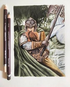 BROTHERTEDD.COM - Drawing Gimli! Lord Of The Rings, Princess Zelda, Drawings, Fictional Characters, Art, Art Background, Kunst, The Lord Of The Rings, Sketches