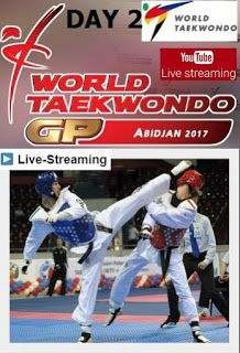 World Taekwondo Grand Prix series final στο ABIDJAN 2017 σε live streaming-Day 2