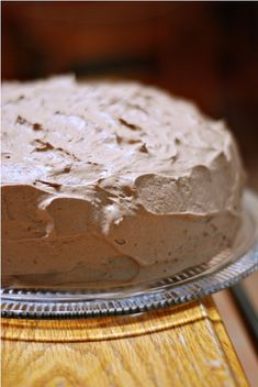 Mocha Cake with Chocolate Ganache