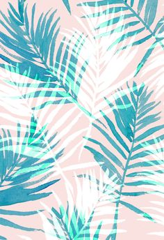 Paradise Pastels by Charis Harrison, via Behance