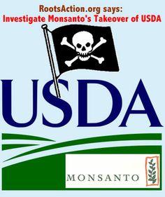 Long Overdue: Let's Close Monsanto's Revolving Door  TAKE ACTION: Demand Congress Investigate Monsanto's Takeover of the USDA