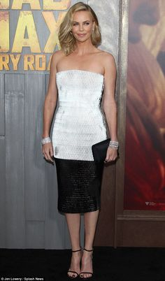 'No, there was no Chardonnays involved!' Charlize theron denied to The Project on Thursday...