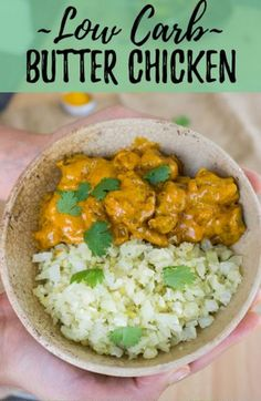 A keto butter chicken recipe that isn't overly complicated with dozens of ingredients. Try this recipe as an introduction to keto indian food. Butter Chicken, Keto Chicken, Easy Chicken Recipes, Healthy Recipes, Ketogenic Recipes, Diet Recipes, Ketogenic Diet, Paleo Diet, Healthy Food