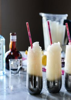 Leap Year Cocktail Slushies