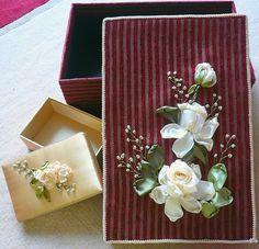 Silk Ribbon Embroidery | Flickr - Photo Sharing!