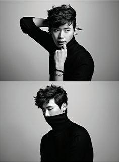 Lee Jong Suk - Harper's Bazaar Magazine March Issue '13