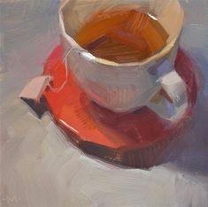 "Daily Paintworks - ""Comfort"" - Original Fine Art for Sale - © Carol Marine"