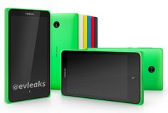 Nokia's Low cost Android Phone - Normandy leaked again in colorful image! #NokiaPhones2014 #AndroidPhones