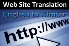 pisethz: translate Website Content from English into Khmer for $5, on fiverr.com