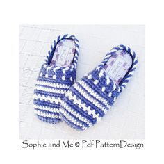 SWEATER CLOG-SLIPPERS Crochet Pattern por PdfPatternDesign