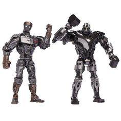 Real Steel Movie DELUXE Versus Action Figure 2Pack Atom vs Zeus New