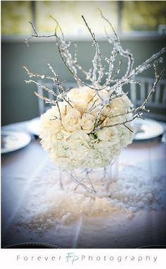 The wedding centerpieces may not look such a huge problem when you find the huge picture. To sum this up, there are lots of winter wonderland wedding centerpieces you can pick from if you prefer to have a really good… Continue Reading → Winter Wonderland Centerpieces, Winter Wedding Centerpieces, Winter Wonderland Wedding, Snow Wedding Decorations, Wonderland Party, Decor Wedding, Diy Wedding, Wedding Cake, Dream Wedding