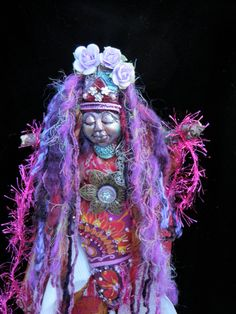 Spirit Doll Volla Fulla Goddess of Bounty by JoyfulEssence on Etsy  by Lili McGovern