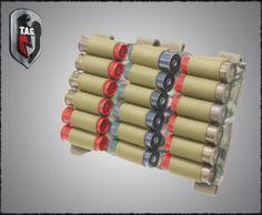 Tactical Assault Gear MOLLE Shotgun Shell Rack; Color: Ranger Green
