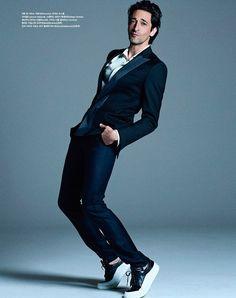 Adrien Brody for Vogue Korea by Michael Schwartz