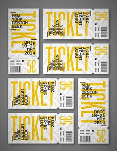 NYCxDesign - New York Design Week by Jous Lara, via Behance