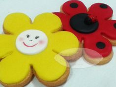 #Primavera #Galletas decoradas con fondant - Spring cookies