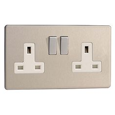 Buy Varilight 2 Gang Socket Online at johnlewis.com
