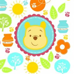 Celebrating a new arrival is always exciting! This adorable Winnie the Pooh Baby Shower theme is perfect for any Mom to Be, its printed with colorful...