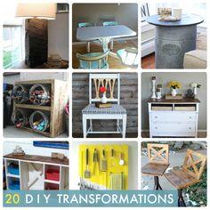 20 DIY Transformations! -- Tatertots and Jello