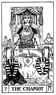 The Chariot tarot card