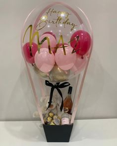 Balloon Gifts, Surprise Boxes & Decor for all occassions – Balloonit Birthday Balloon Decorations, Graduation Decorations, Birthday Balloons, Balloon Flowers, Balloon Bouquet, Balloon Gift, Air Balloon, Diy Gift Box, Gift Boxes