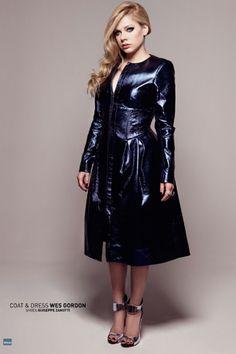 Avril Lavigne Gets A Prada Makeover...