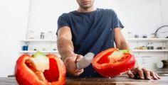Učení nemusí být vždy mučení. Naučte děti první písmenka zábavnou metodou • Styl / inStory.cz Stuffed Peppers, Vegetables, Stuffed Pepper, Vegetable Recipes, Stuffed Sweet Peppers, Veggies