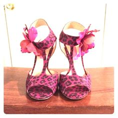 Betsey Johnson Heels Size 7 Brand new Betsey Johnson pink and leopard heels. Size 7, never been worn but without tags. Betsey Johnson Shoes Heels