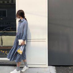 Hè đến, không gì tuyệt hơn là ngày nào cũng được diện loạt kiểu váy nhẹ tênh và xinh xắn hết nấc này - Ảnh 7. Jessica Jung, Normcore, Shirt Dress, Sewing, My Style, Shirts, Outfits, Dresses, Fashion
