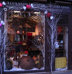 winter / candy window display by c__, via Flickr