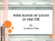 Need suitable loan alternatives to resolve wide range of needs? At Lenders Club, we can help you by releasing funds that match your need and profile. In case you wish to know more about the offers, visit:- http://goo.gl/05aqLH