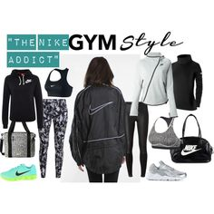 """Gym Style: """" The Nike Addict"""" - Polyvore"""