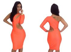 New 2013 Sexy Womens Ladies Long Sleeve Backless Slim Fit Bodycon Clubwear Dress Sexy Bandage Pencil Dresses Free Shipping $9.99