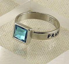 Pray Rings, Religious, Womens Size 7 Teal (blue green) Pr... https://www.amazon.com/dp/B00KGECI1Y/ref=cm_sw_r_pi_dp_x_BWGjybWNYMQFD