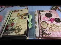 ▶ Envelope mini Album; Kathy Orta style - YouTube - Just found Kathy Orta on You Tube and LOVE her ideas and tutorials!