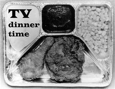 TV Dinners also made their debut into the American Household in the 1940's