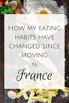 How my eating habits have changed since moving to France is part of French diet - After living here awhile, I've realized that I've changed my eating habits, and after thinking about it, these changes are for the better French Diet, French Food, French Style, French Chic, French Lifestyle, French People, French Beauty, Macaron, Eating Habits